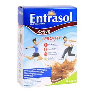 entrasol active, susu peninggi badan terbaik, susu peninggi badan paling ampuh