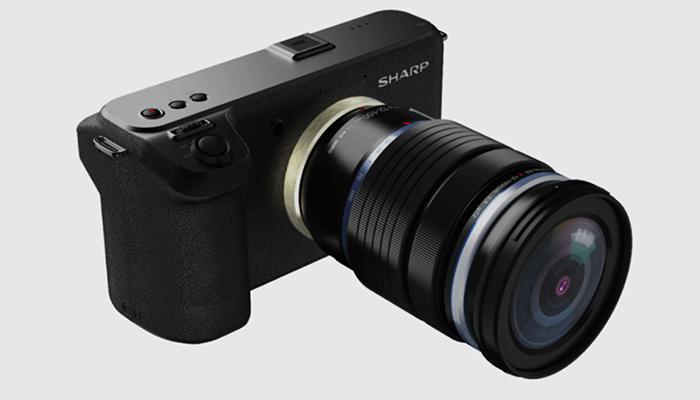 Камера Sharp стандарта MFT с возможностью съемки 8K-видео