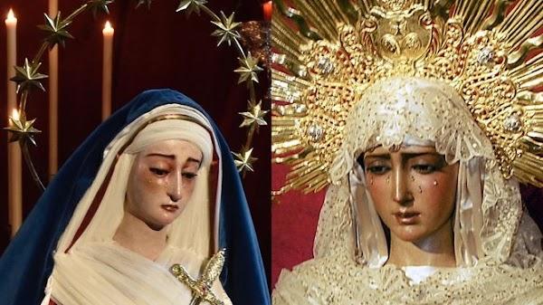 El Dulce Nombre y la Soledad celebran un besamanos extraordinario en Sevilla