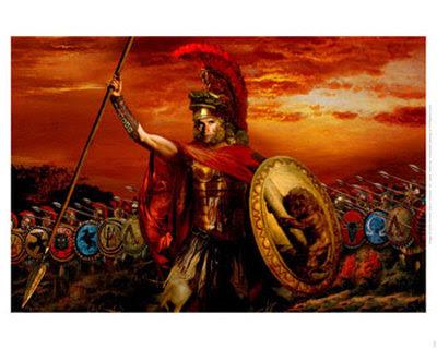 A marcha de Alexandre contra Jerusalém .