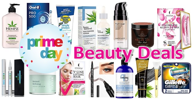 Top 33 Amazon Prime Day Beauty Deals