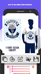 Aplikasi T Shirt Design Desain Baju dan Kaos Android