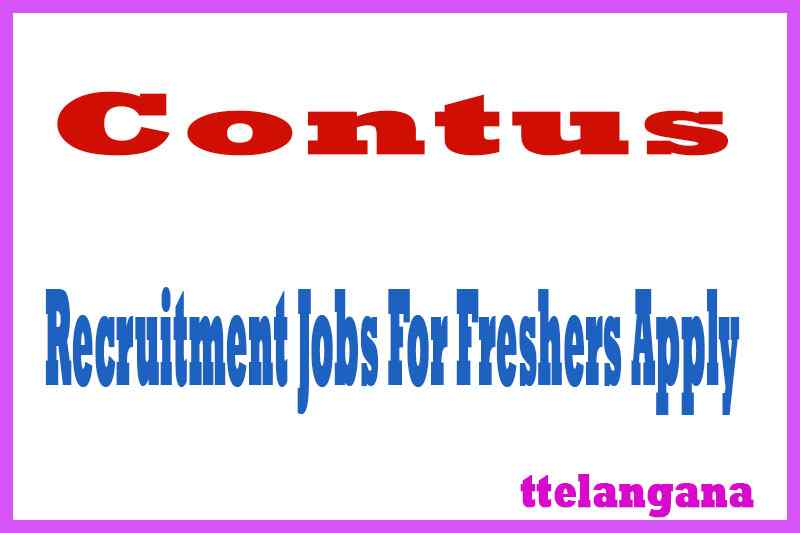 Contus Recruitment Jobs For Freshers Apply
