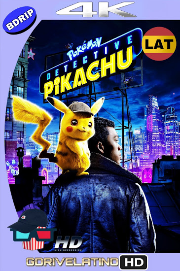 Pokémon Detective Pikachu (2019) BDRip 4K HDR Latino-Ingles MKV