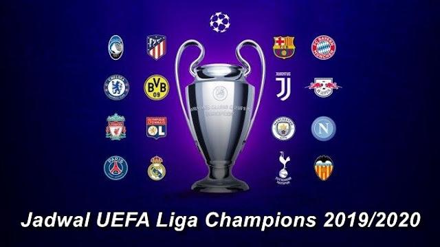 Jadwal Liga Champions 2019/2020