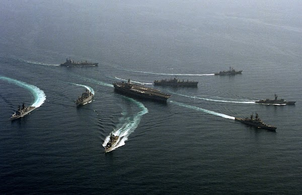 Balas Tiongkok, Armada Kapal Induk Amerika Datangi Laut Taiwan