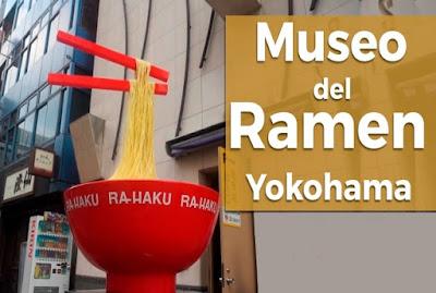 Museo del Ramen de Yokohama, Japón