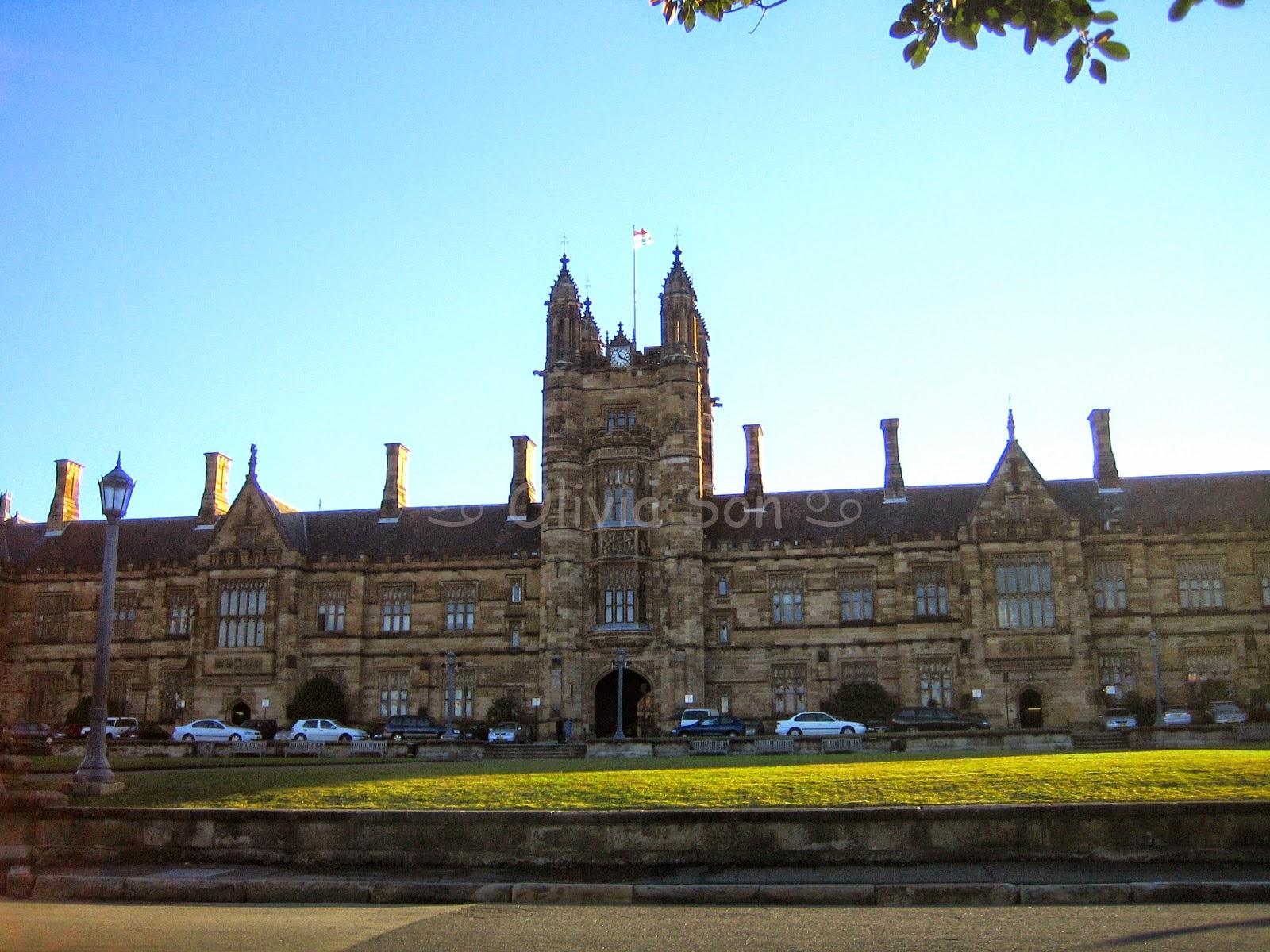 University of Sydney, Sydney, Australie