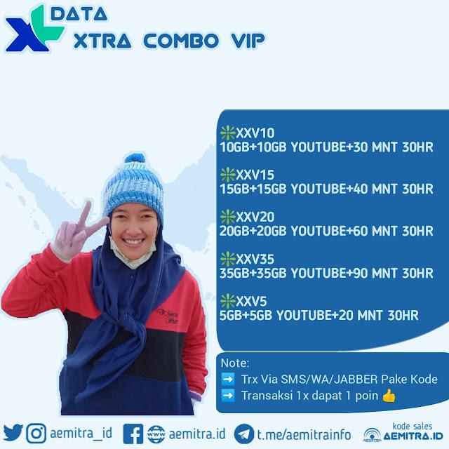 XL DATA XTRA COMBO VIP