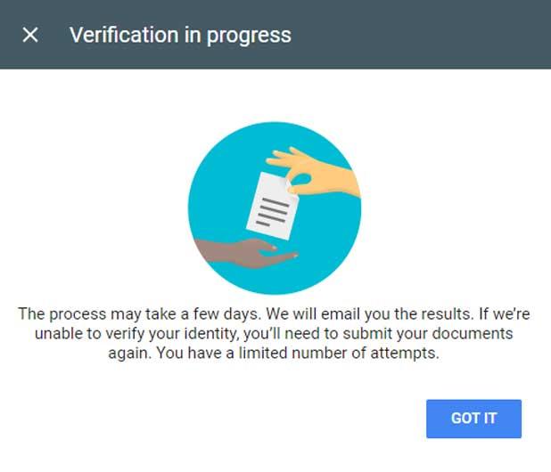 Google AdSense Account Me Identity Verify Kaise Kare