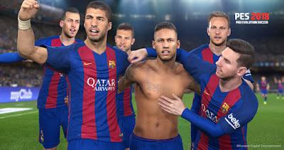 تحميل لعبة Pro Evolution Soccer 2018 نسخة ريباك بروابط مباشرة