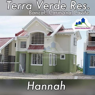HANNAH SINGLE ATTACHED HOUSE  TERRAVERDE RESIDENCES AFFORDABLE HOUSE AND LOT SALE RENT TO OWN CAVITE