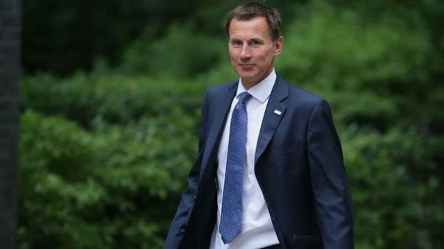 British foreign secretary Jeremy Hunt claims German Chancellor Angela Merkel seeks to renegotiate Brexit deal