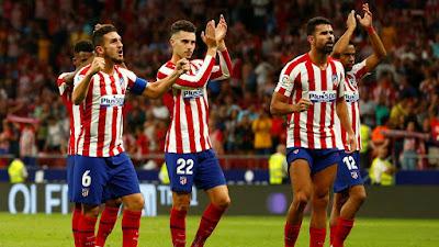 Spanish Football Club Atletico de Madrid