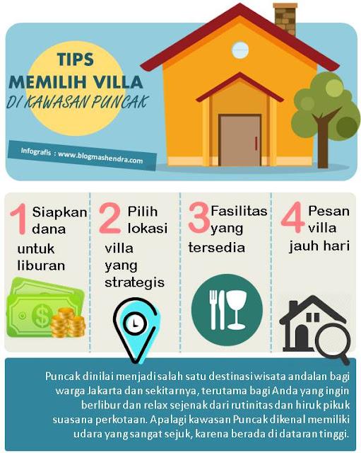 4 Tips Memilih Villa di Kawasan Puncak