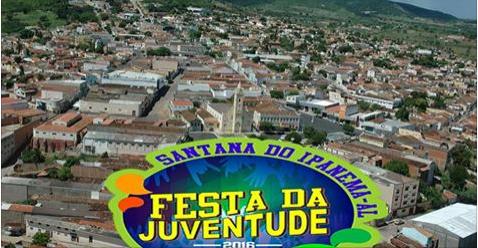 Hoje tem Samyra Show, Geninho Batalha e artistas da casa na 1ª noite da Festa da Juventude em Santana do Ipanema
