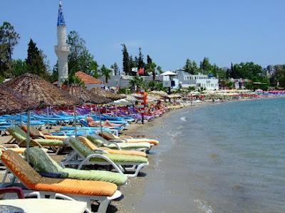 Pantai Gumbet Bodrum