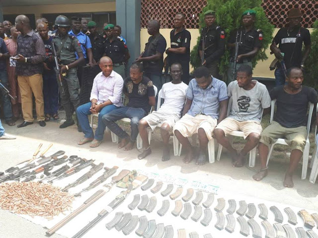 7 Nigeria kidnappers arrested