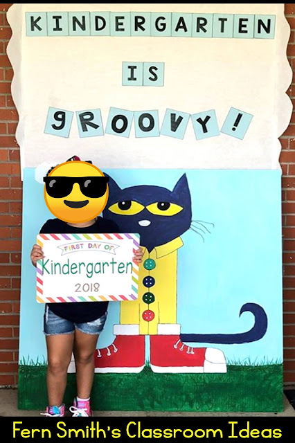 Kindergarten Week Two Themes, Lessons, and Resources #FernSmithsClassroomIdeas