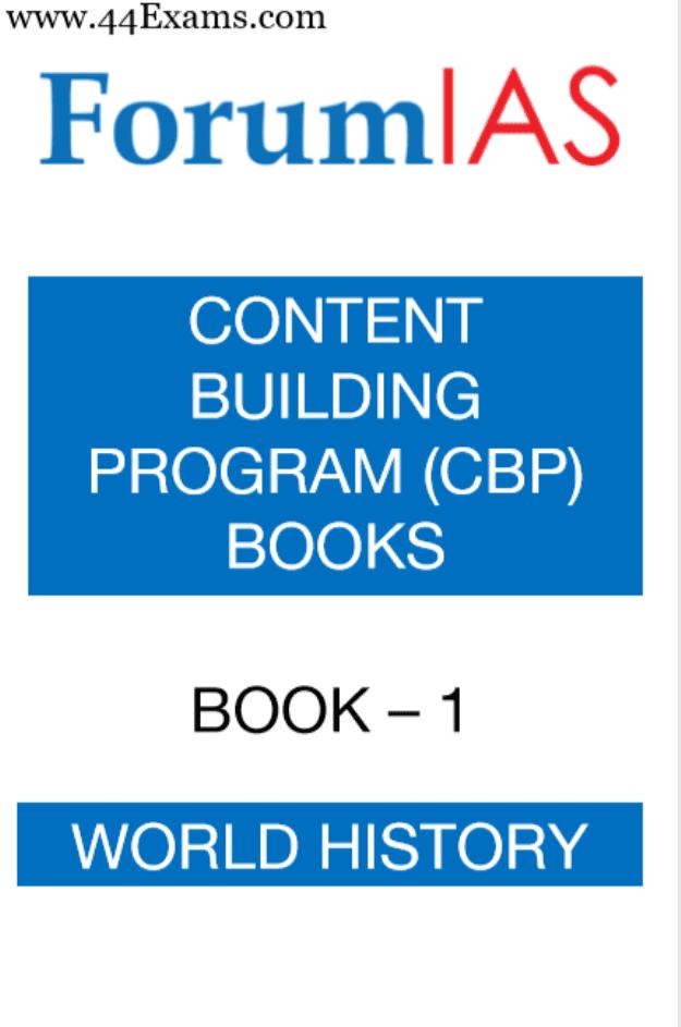 Forum-IAS-World-History-For-UPSC-Exam-PDF-Book