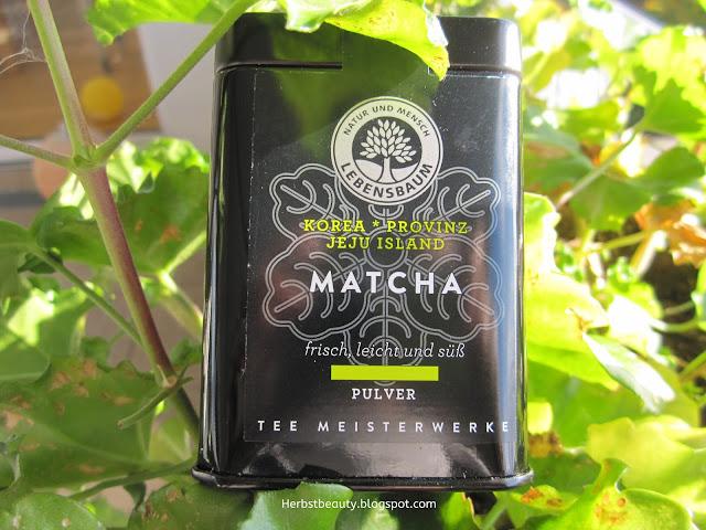 Matcha-Tee von Lebensbaum