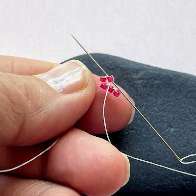 Brick Stitch Increase Beading Tutorial
