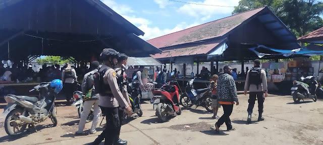 Awal Tahun, Polres Jayawijaya Tingkatkan Patroli