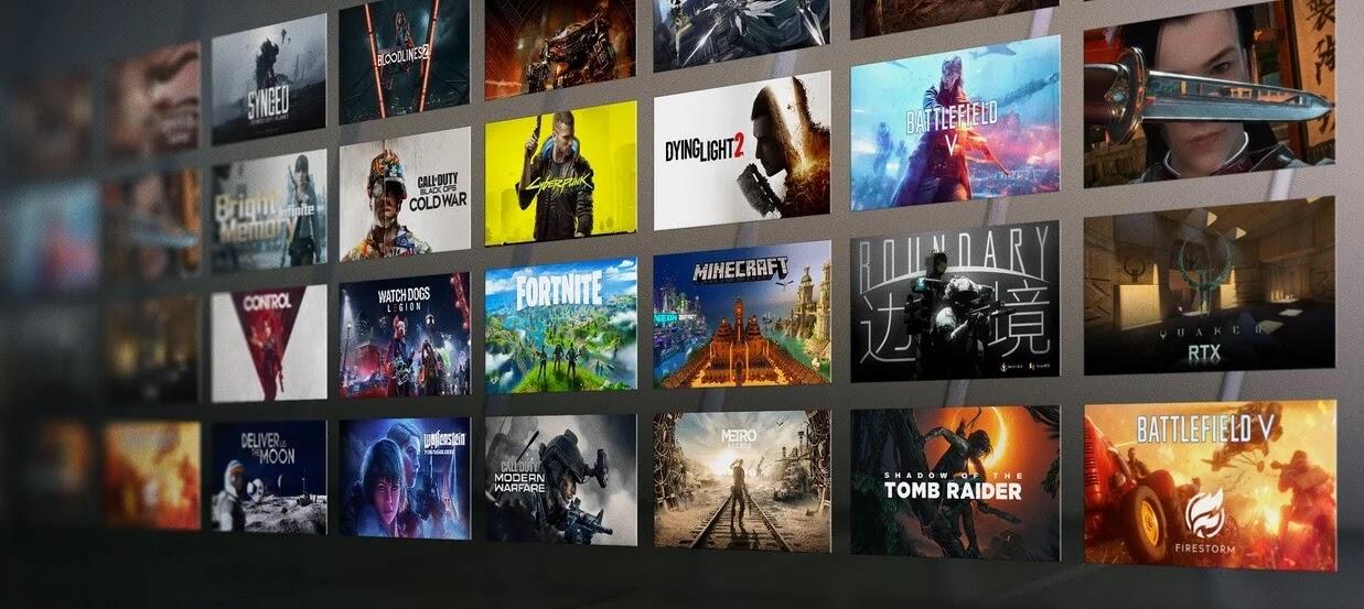 NVIDIA GeForce Ampere RTX Games