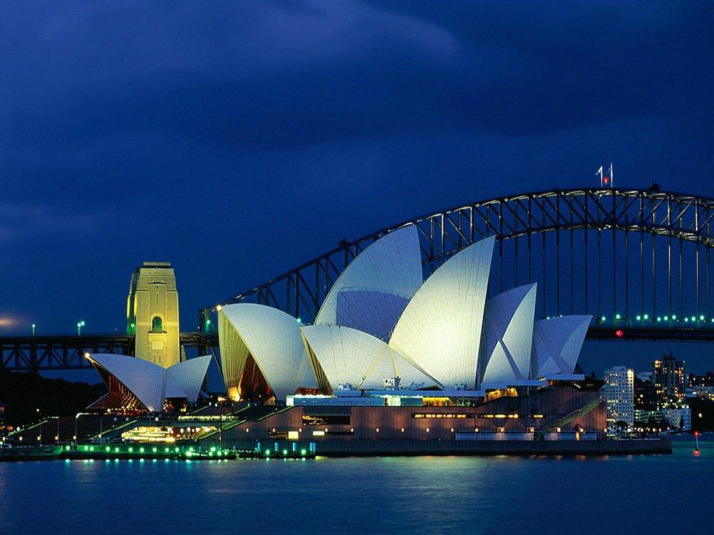 Sidney Australia Summer Vacation