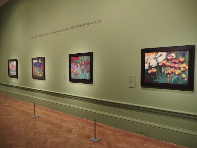 Emil Nolde's colourful paintings at the Royal Academy's Painting the Modern Garden exhibition