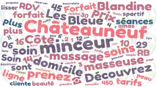Réservez votre massage minceur à Châteauneuf les Martigues;