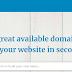 LeanDomainSearch- The Best Domain Name Generator
