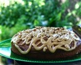 Banana Nut Cake with Caramel Frosting