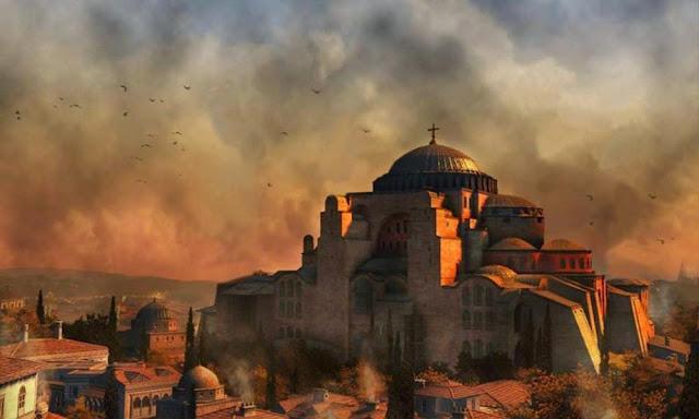 Η καταπάτηση της Αγίας Σοφίας πρόκληση για τον ελληνισμό και τον χριστιανικό κόσμο