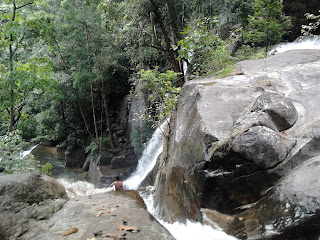 Vazhvanthol Waterfalls Near Kanithadam,  Trivandrum