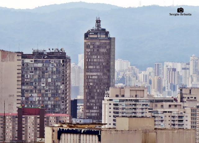 Vista do Edifício Itália desde o Sesc Paulista (Superzoom)