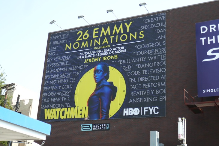 Watchmen 26 Emmy noms billboard