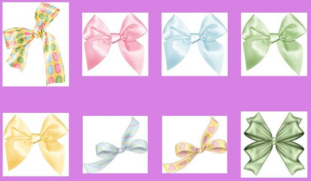 Easter Bows.