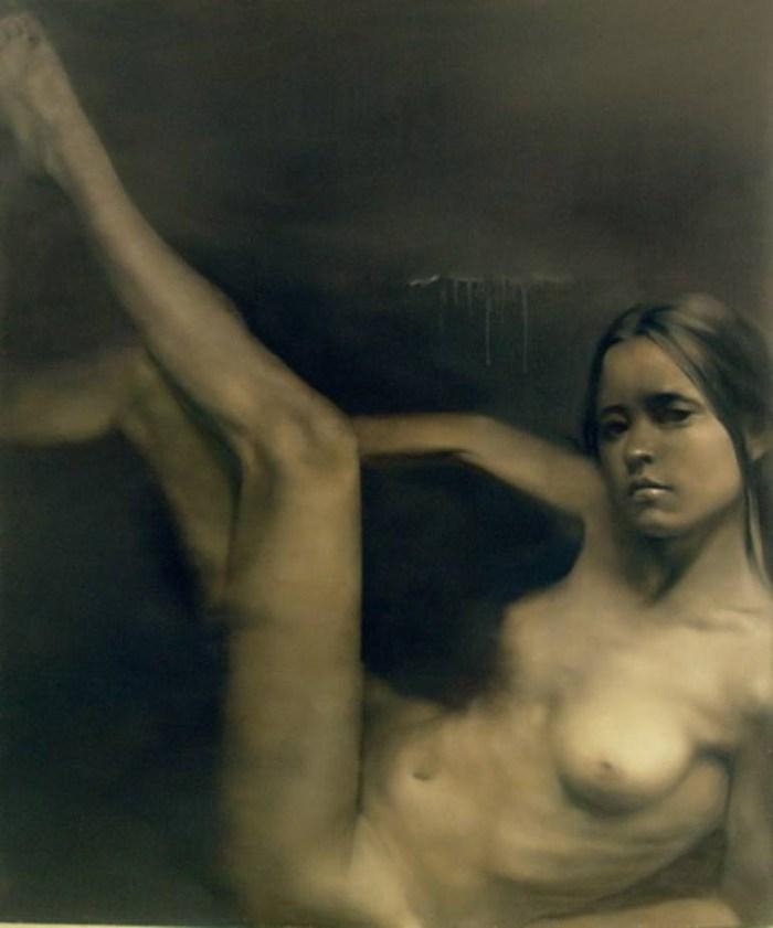 Китайский художник. Zhu Kai