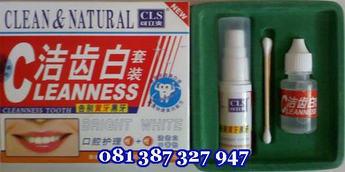 Obat Pemutih Gigi Herbal Alami Super Cepat CLEANNESS TOOTH, obat pemutih gigi alami, obat pemutih gigi herbal, pemutih gigi cleanness tooth, pemutih gigi clean and natural, obat herbal pemutih gigi, cairan pemutih gigi, obat cair pemutih gigi, obat penghilang karang gigi, obat pemutih gigi kuning, obat penghilang bau mulut, obat penyegar mulut, cairan pemutih gigi, Pemutih gigi super cepat, obat pemutih gigi tercepat, obat pemutih gigi ampuh, obat pemutih gigi aman tanpa efek samping