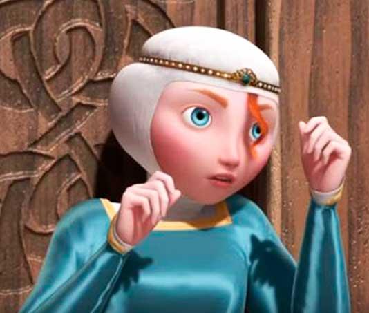 princesa merida figurino