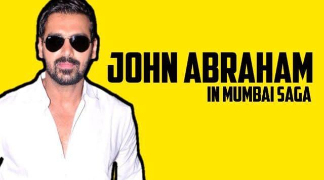 John Abraham In Mumbai Saga