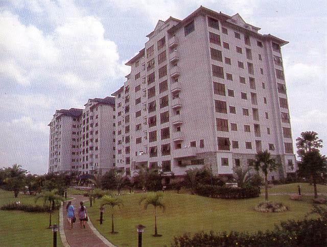 Iklan Apartemen Taman Kemang Jaya, 1995