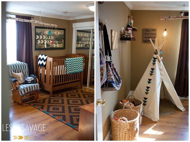 Fawn over baby amazing tribal themed nursery by leslie for Aztec bedroom ideas