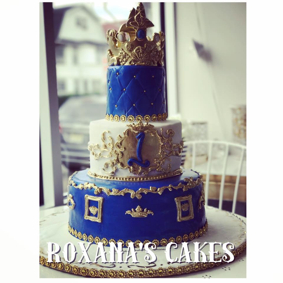 Baking with Roxanas Cakes Prince Themed 1st Birthday Cake