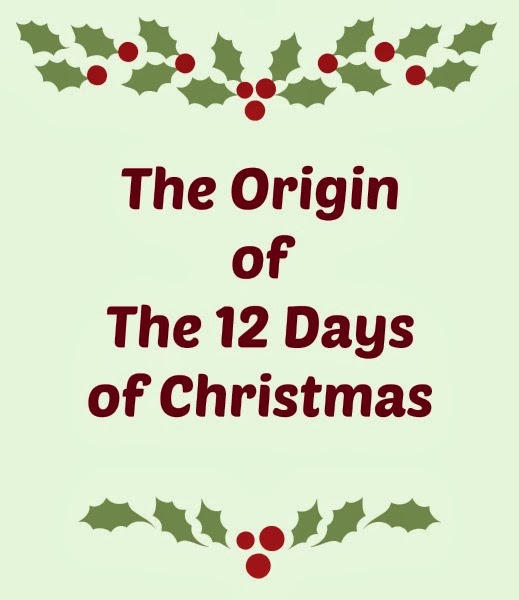 Origin Of 12 Days Of Christmas.Controlling Craziness The Origin Of The 12 Days Of Christmas