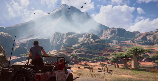 Uncharted 4'ün görsel efektleri sizi büyüleyecek