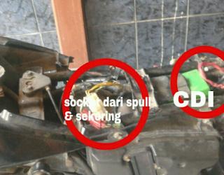 Trik Tutorial Cek Pulser Sepeda Motor Rusak alias Mati