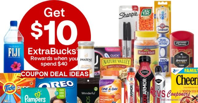 CVS $10/$40 Extrabuck Coupon Deals