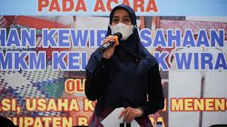 Ketua Dekranasda Batu Bara Tutup Pelatihan UMKM Bagi Lansia